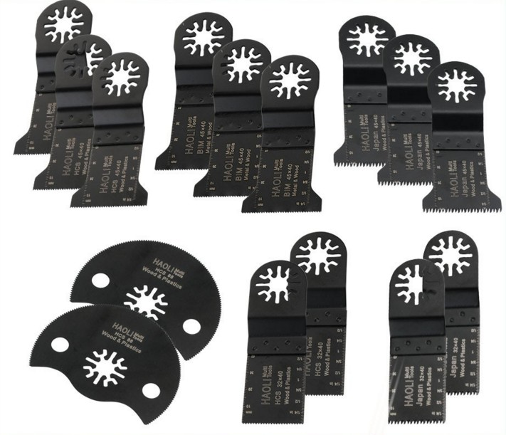 15 pcs oscillating tool saw blade for most brand of Multifunction power tool as TCH,DREMEL,FEIN ,at lowest price,FREE SHIPPING