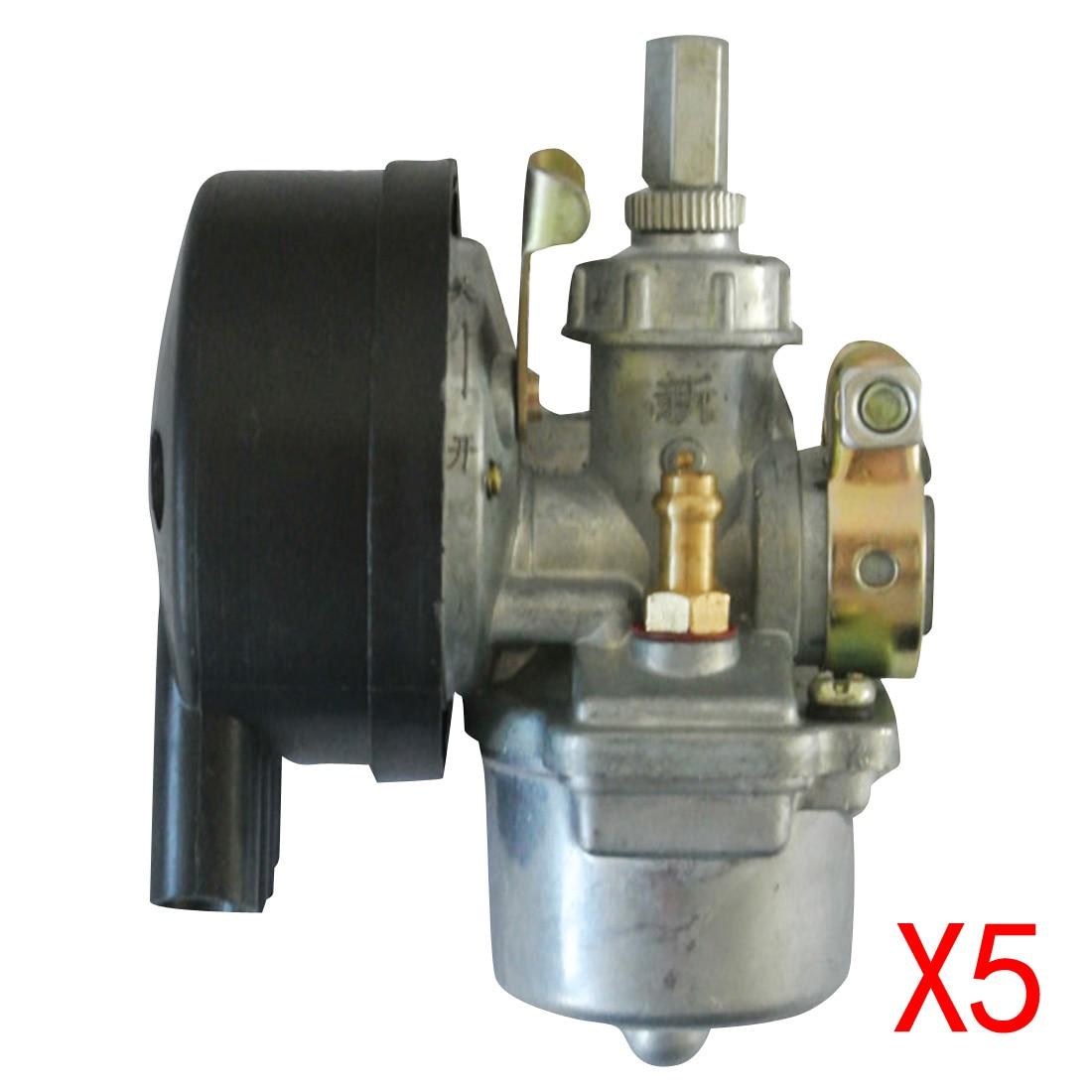 5 * черный карбюратор для 49 60 66 80cc 2 двигатель моторизованный велосипед роллер