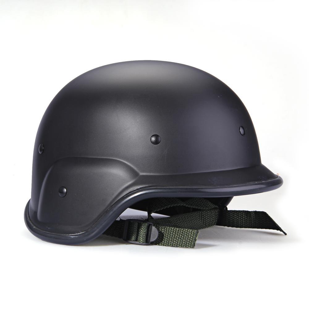 TOMOUNT Airsoft casco táctico ejército fuerza militar caza cascos negro disparando de Paintball de la cabeza de los hombres casco airsoft