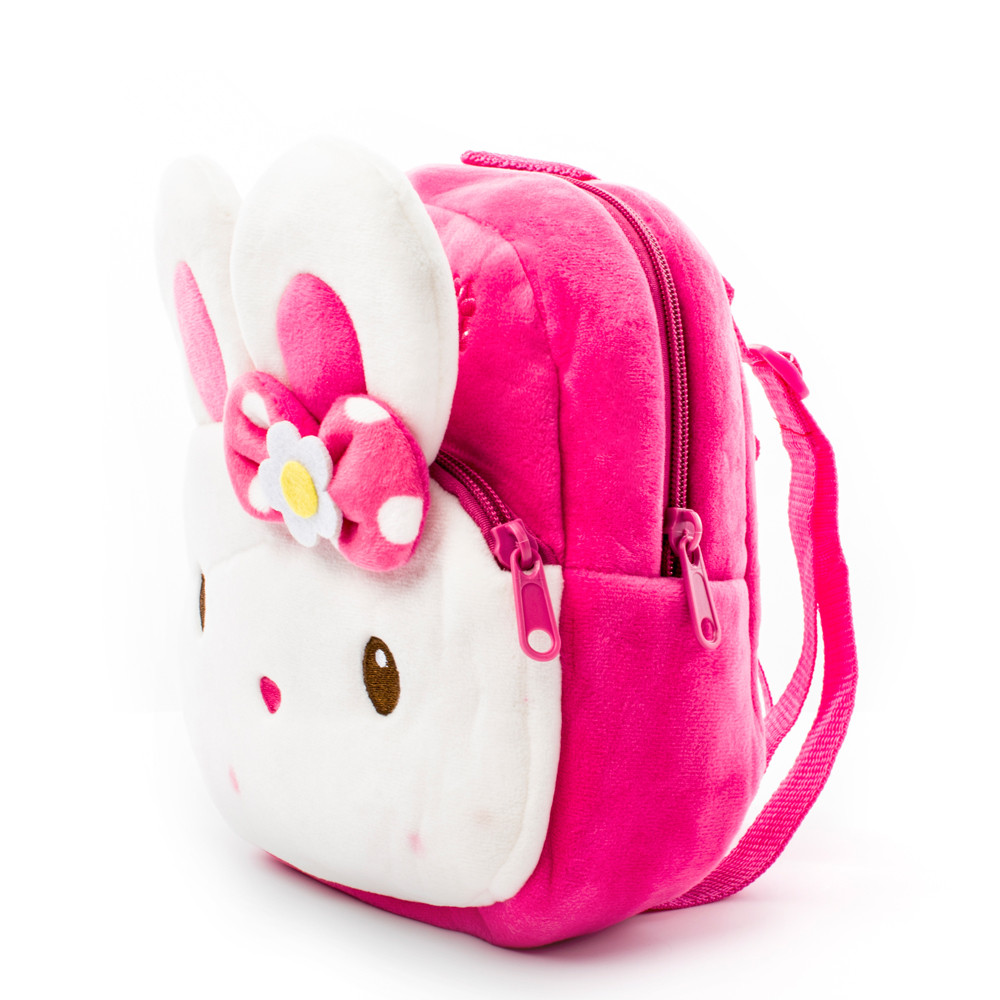 Winmax Toddler Plush Cartoon Kids Schoolbag Backpack Kindergarten Rabbit School Bags Girls Boys Baby Child Cute Mochila Infantil