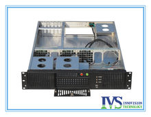 "Stable 19"" 2U rack case RC2630A supports MAX 12""*13"" ATX M/B with Five Vertical expansional slots for half-height Card(China)"