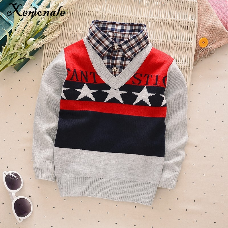Xemonale-new-faul-Two-Pcs-fashion-baby-autumn-winter-sweater-clothes-baby-boysgirls-cardigan-sweater-coat-Childrens-sweater-2
