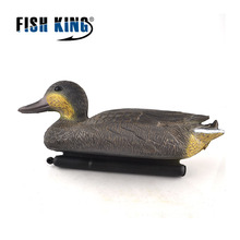 FISH KING 1PCS The Drake PE Material Simulation Bait Simulation Hunting Goods Decoy Duck  Outdoor Hunting Duck Decoy