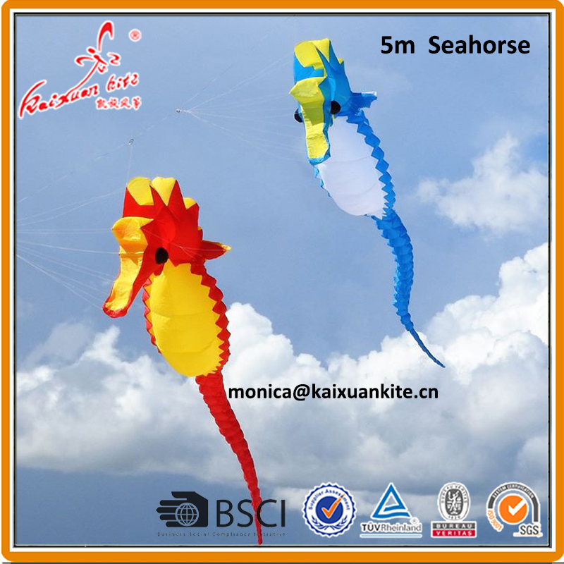 5m Seahorse Inflatable kite from kaixuan kite factory
