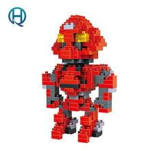Mini Nano Blocks Transformations LOZ Building Blocks Stinger Action Figure Diamond Blocks Compatible Legoelieds 9404