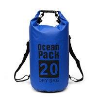 20L Водонепроницаемый Открытый альпинистский плавательный мешок ультра легкий компрессионный водонепроницаемый регулируемый наплечный кр...