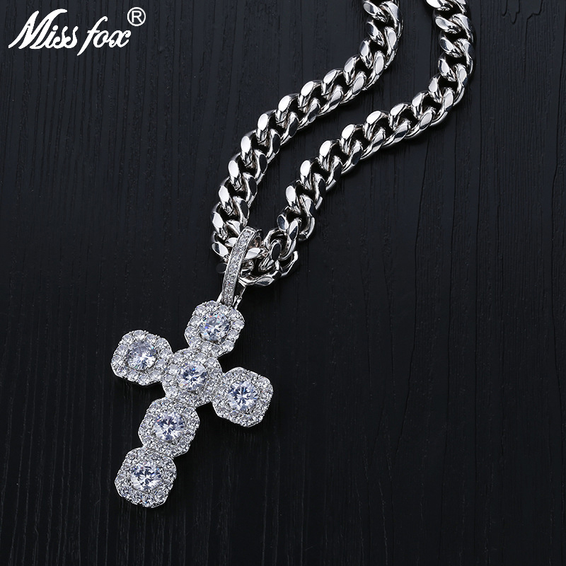 Missfox chaîne en forme de coeur cassé collier solide doré argent métal détachable Double boucle Couples ras du cou Hip Hop bijou tendance