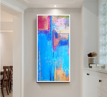Hand painted paintings for living room wall canvas quadri da parete  moderni astratti su tela Abstract Modern Wall Paintings