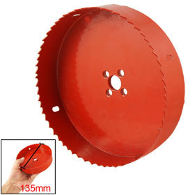 Red Wood Alloy Iron Cutting 38-150mm Diameter Bimetal Hole Saw Cutter Twist Drill Bit 1 PCS ayhf 60mm hole saw cast iron cutting hss twist drill bit