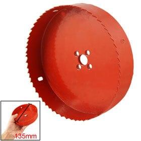 Rouge Bois Alliage De Fer De Coupe 38-150mm Diamètre Bimétallique Scie Cutter Foret Hélicoïdal 1 PCS