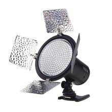 YONGNUO YN216 3200 K/5500 K LED וידאו אור עם 4 צבע צלחות עבור Canon ניקון DSLR מצלמה וידאו אור צילום תאורה