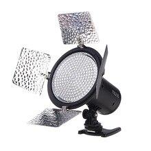 YONGNUO YN216 3200 K/5500 K LED lumière vidéo avec 4 plaques de couleur pour Canon Nikon DSLR caméra vidéo lumière éclairage photographique
