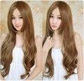 Новое поступление 65 см свет Culy нью-лонг синтетические волосы, В модно косплей
