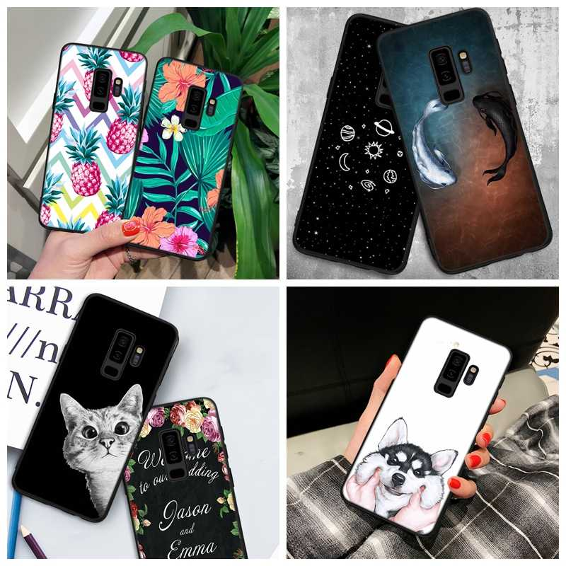 Patroon Case Voor Samsung Galaxy S9 S8 Plus Note 8 S7 S6 Rand A8 Plus 2018 A5 A3 A7 J7 j5 J3 2017 2016 Telefoon Geschilderd Case Cover