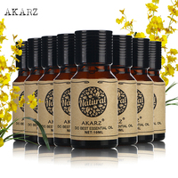 AKARZ Famous brand value meals Fennel Gardenia Myrrh Neroli Vetiver Bergamot Cherry blossom Clove skin care essential oil 10ml*8