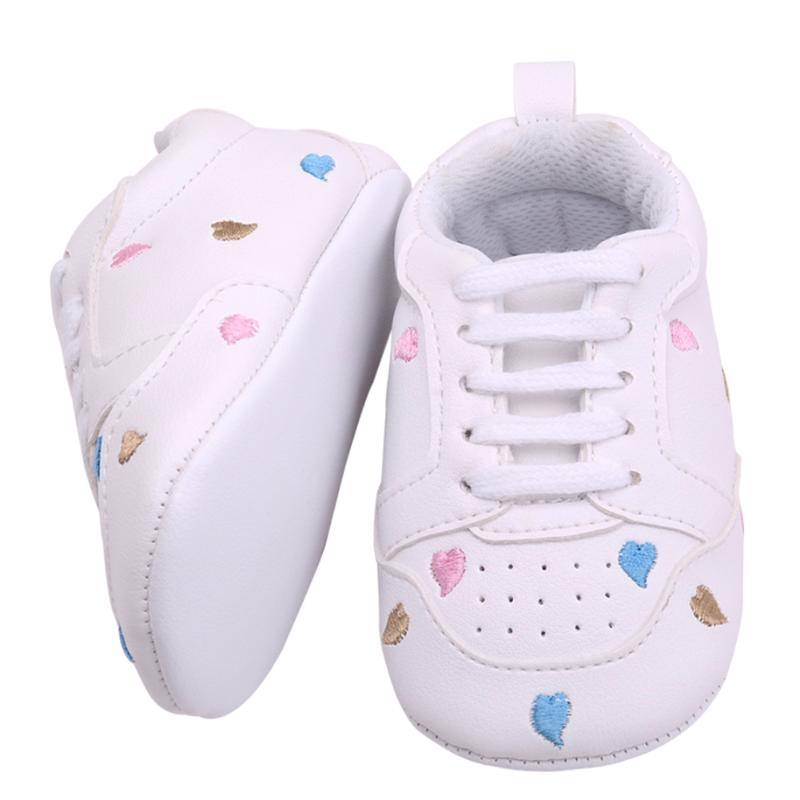 Autumn Baby Sports Shoes Toddler Infant Love Pattern Soft Sole Prewalker Shoes Newborn Boy Girl Footwear Sneakers Baby Moccasins