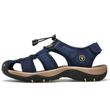 2019 Men's Summer Outdoor Hiking Trekking Sandals Shoes Sneakers For Men Beach Water Aqua Barefoot Shoes Sandals Man 39-48 merrto men s summer aqua water shoes outdoor trekking hiking sandals shoes for man climbing mountain sandals shoes senderismo