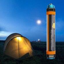 USB Перезаряжаемые IP68 Водонепроницаемый светодиодный лагерь огни Портативный фонарь фонарик T15T25T30 многофункциональный висит магнитная лампа D