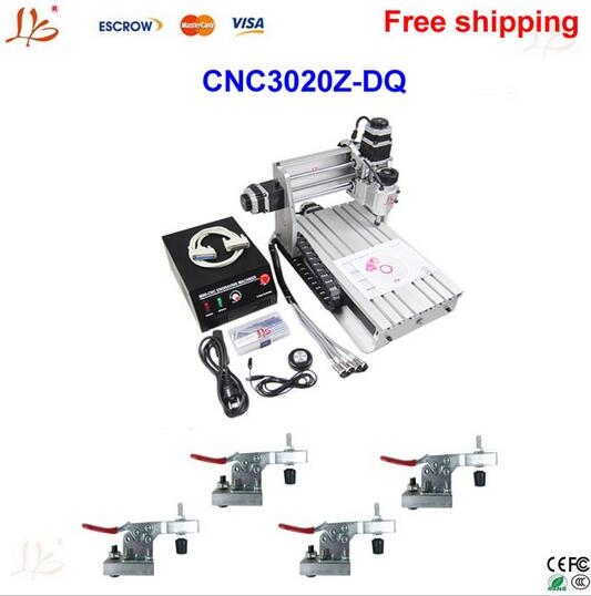 New design!cnc router LY 3020Z-DQ mini cnc milling machine, carving machine with ball screw with free gift ly cnc router 3020 z d 500w spindle engraving machine with the limit switch small mini cnc milling machine