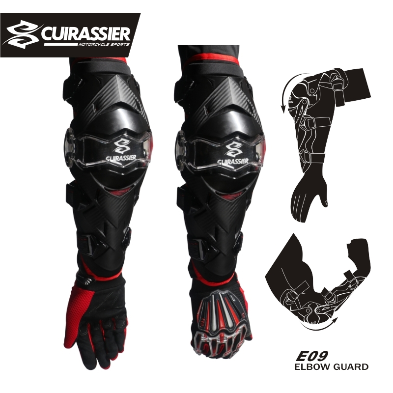 Cuirassier Elbow Protector Motorcycle gear knee elbow pad Motocross Downhill Dirt Bike MTB Protection Off-Road Racing MX Kneepad защитные колпаки для мотоциклов cuirassier защита защитника kneepad off road mx motocross brace elbow guard защитные очки для гонок