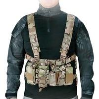 1000D Nylon Tactical Vests Lightweight Strap Bullet Clip Bag Vest Outdoor Combat CS Filed Shooting Game Hunting Vest