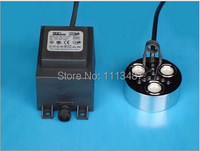 Brand New 900ml H Ultrasonic Mist Maker Fogger 3 Head Humidifier Transformer With Color Light