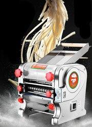 Urządzenie do gotowania makaronu w domu prasa maszyna ze stali nierdzewnej elektryczny makaron wielofunkcyjny wprowadzenia na rynek owijarki automatyczne. nowy