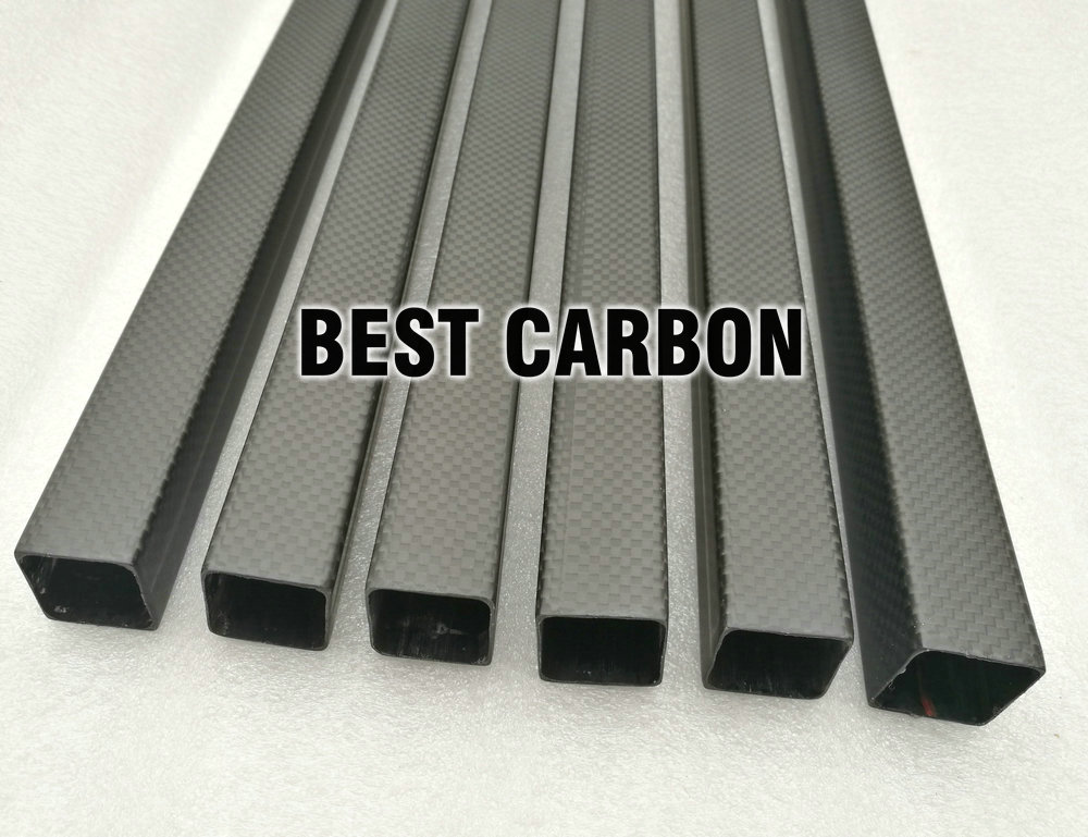 shorter 3K Plain matte square carbon fiber tube 25mm x 23mm 1 piece 100x500mm 200x500mm 300x500mm 400x500mm carbon fiber plain matte sheet 2mm thickness