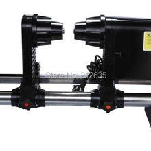 Бумага приемник принтера для Mutoh VJ1604/1618 т. д. принтера серии с одним двигателем и amercica/Европейский Power Plug