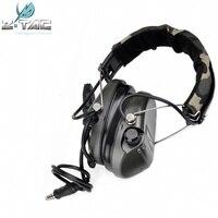 Auriculares tácticos Z Sordin con reducción de ruido Airsoft  auriculares militares para caza y caza  versión oficial Z111 FG