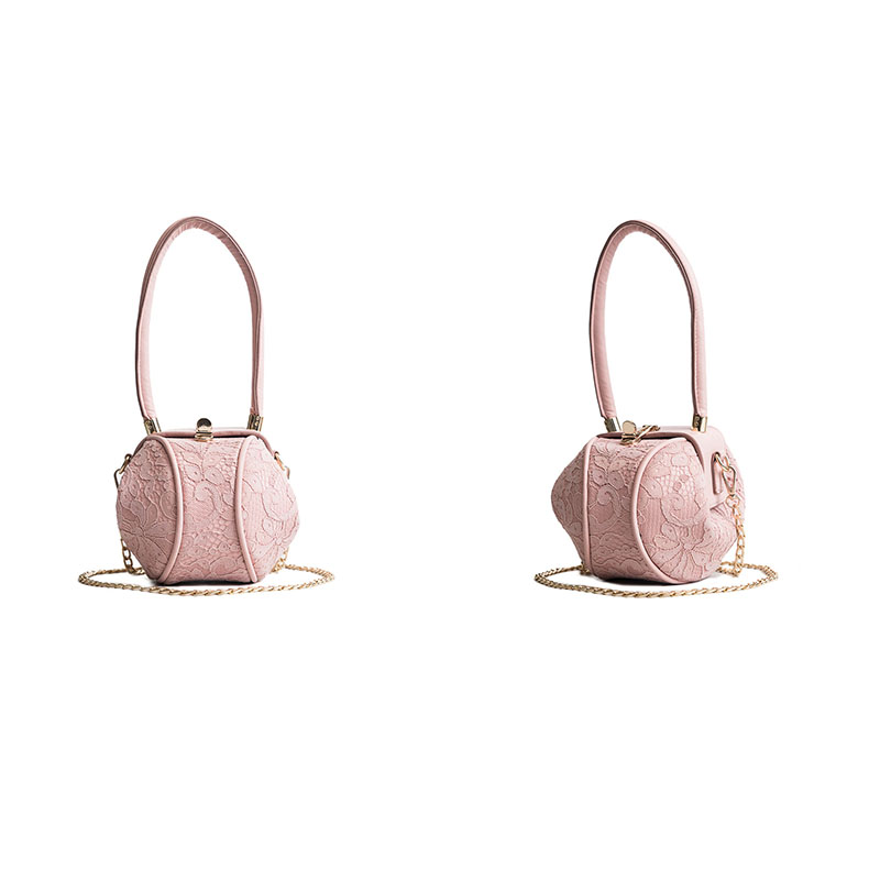 M.S Lace Lantern Bags Women Handbags Summer 2018 Beach Tote Party Bags Ladies Leisure Top-handle Crossbody Bag Female Chain Bags