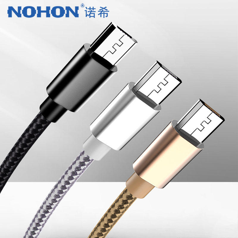 NOHON Micro USB Fast Charging Cable For Samsung S7 S6 Note 4 5 Edge For Huawei Xiaomi Redmi 4X 4A Oppo Android Phone Data Cables|Mobile Phone Cables| |  - AliExpress