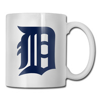 Detroit Baseball Logo coffee mug discount kids tazas ceramic tumbler caneca tea Cups