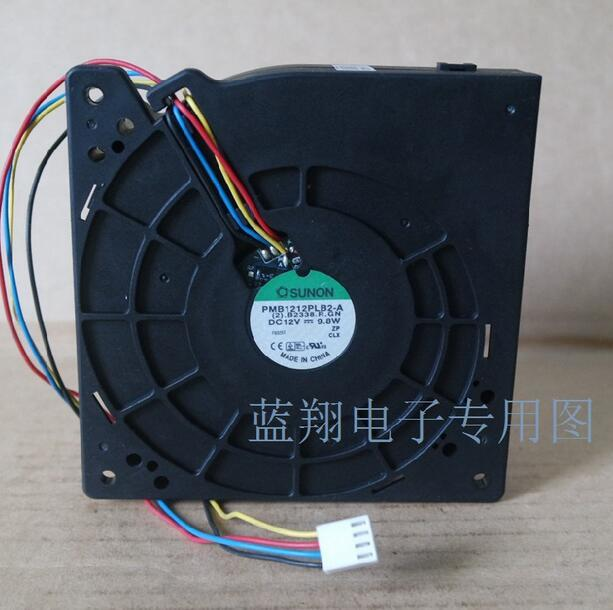 SUNON For Cisco 3560G-24TS-S Ws-c3750G-48PS PMB1212PLB2-A 120*120*32mm 4-wire Switch Cooling Fan For 3560g-24ts hunting tactical optics 2 5 10x40 mil dot reticle red laser sight riflescope rifle gun scope