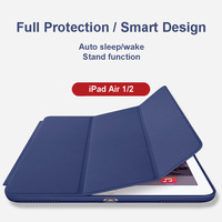 Smart Shell Case For Apple IPad Air 1 2 IPad 5 6 Ultra Slim Lightweight Stand