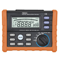 OFFCIAL PROTMEX Analog and Digital 1000V MS5203 Insulation Resistance Tester megger meter 0.01~10G Ohm with Multimeter