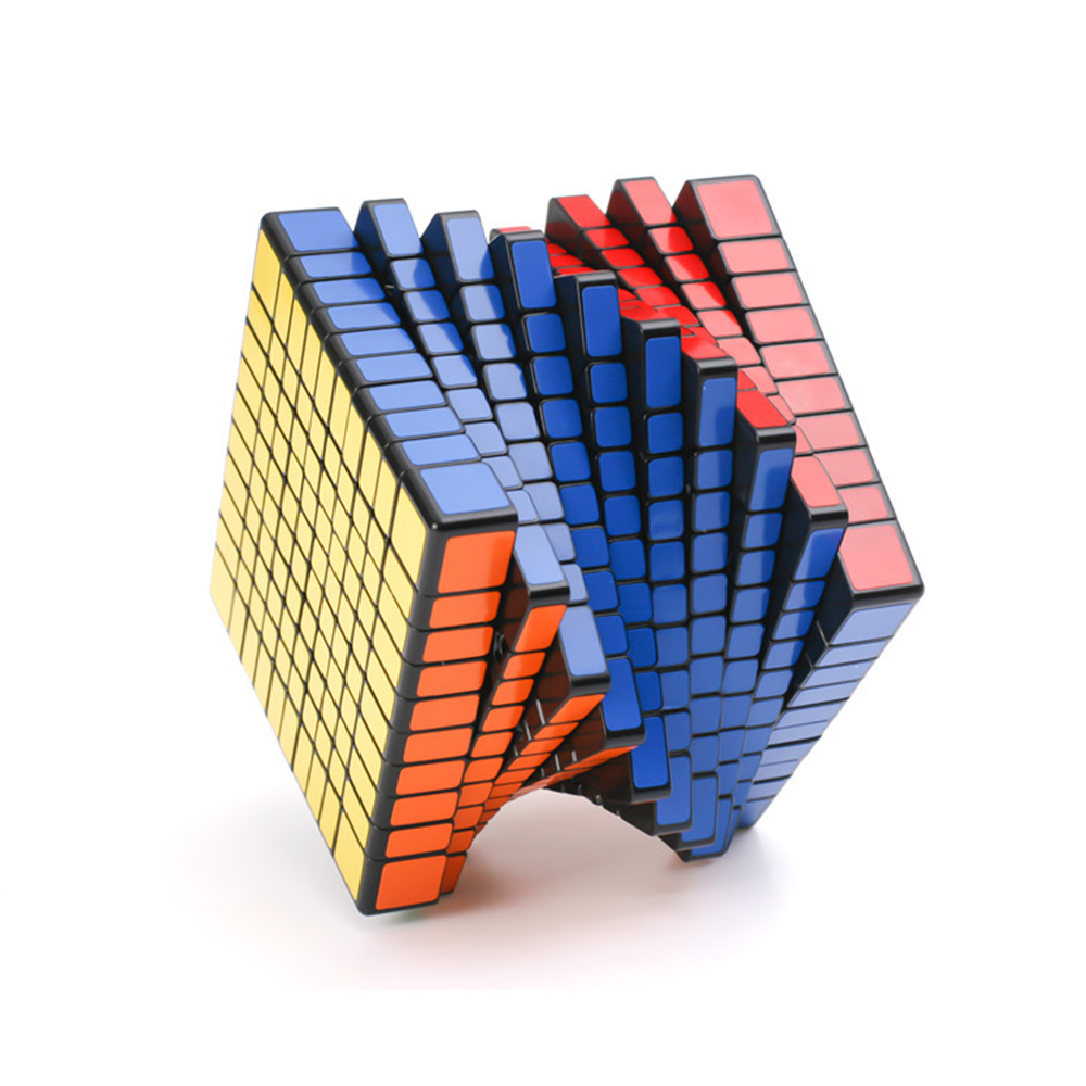 10x10x10 Black Rubiks Cube Competition Speed Magic Cube Puzzle Educational Toys for Children