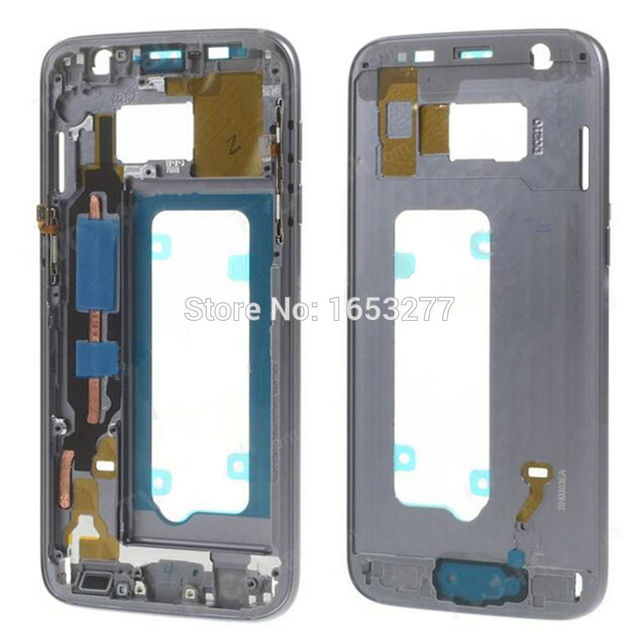 5 pieces/lot by DHL/EMS YJ Mid Middle Plate Frame Housing with Small Parts for Samsung Galaxy S7 G930F G930P G930V G930A