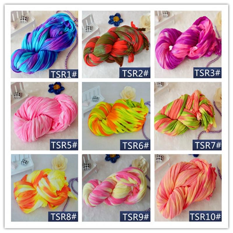 3m estocagem flor accessorries exclusivo meias decoração malha grinalda especial tingimento peônia flor estocagem fazendo flor de náilon