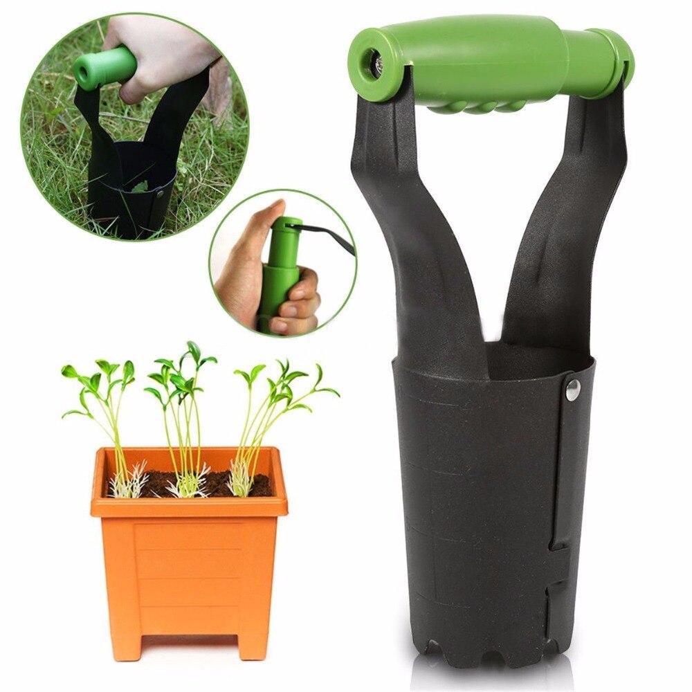1Piece Manual Weeding Shovel Gardening Weeding Transplanting Shovel Garden Tool Agricultural Seedling Transplanter