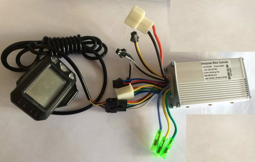 24v 250w display and controller ph02