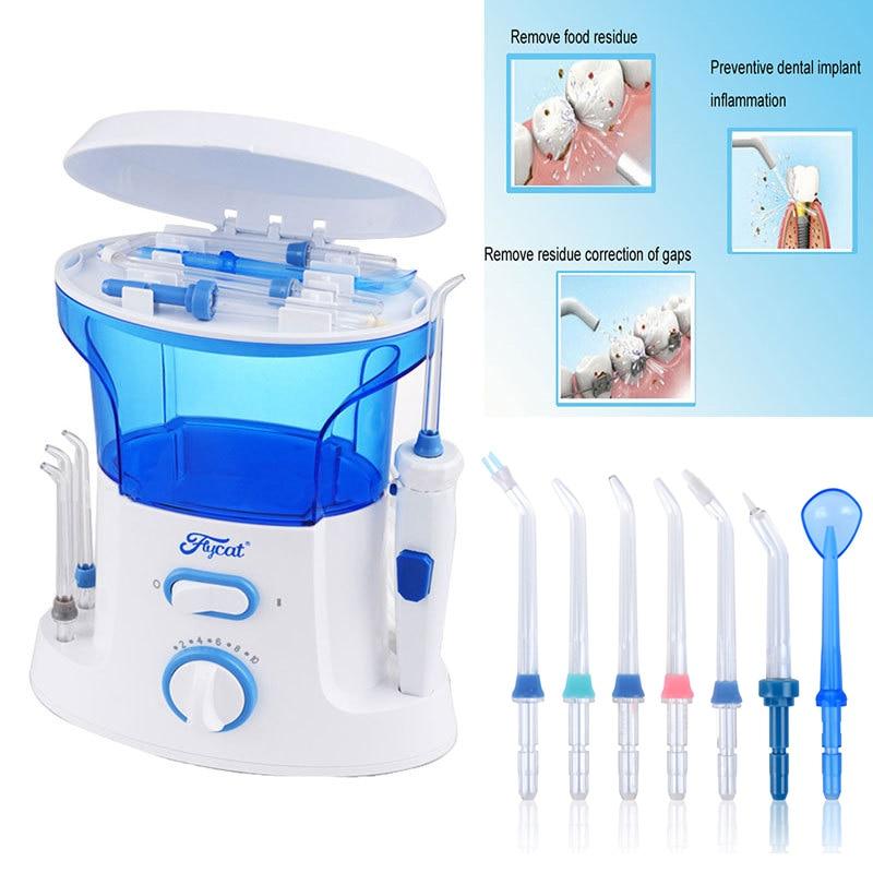 Nicefeel Dental Floss Water Oral Flosser Home Pack Dental Irrigator Oral Teeth Cleaning Water 7 Pcs