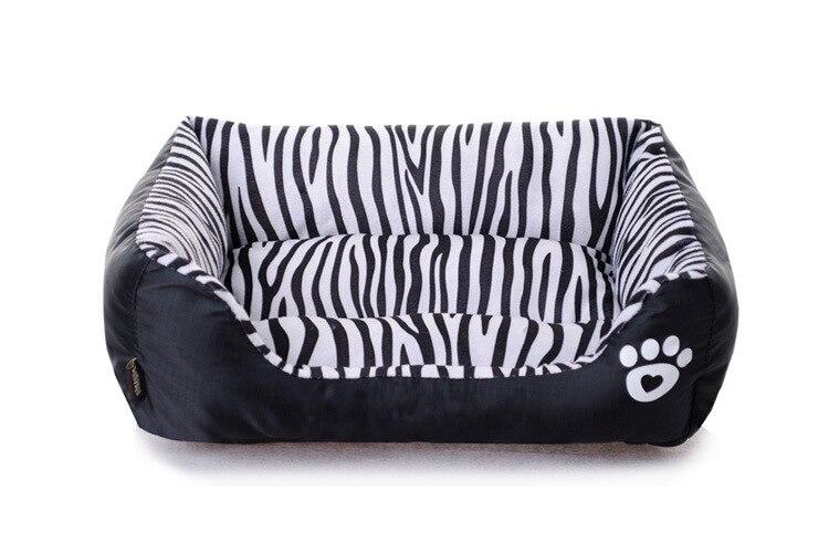 Zebra Print Dog Beds | Zef Jam
