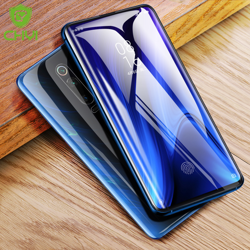 CHYI 3D Curved Film For Xiaomi Redmi K20 Pro Screen Protector Mi 9T Full Cover nano Hydrogel Film With Tools Not Glass Mi9t-in Phone Screen Protectors from Cellphones & Telecommunications on
