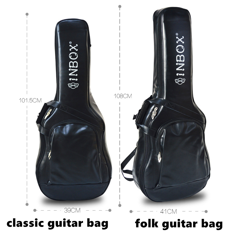 High quality leather guitar bag for Acoustic/ classic / folk / electric guitar bag bass guitar bag guitar accessories parts zebra cool skull electric guitar belt polyester acoustic folk guitar classic guitar strap for electric acoustic guitar bass