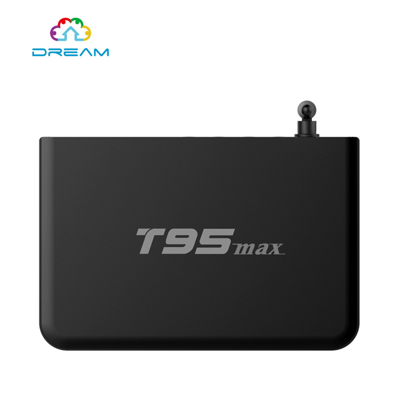 Android TV Box T95max Amlogic S905 Metal Case 2GB 32GB Quad Core Andorid 5.1 TV BOX 2.4G/5GHz Dual WiFi BT4.0 installed t95 metal case amlogic s905 quad core andorid 5 1 tv box 2gb 8gb 2 4g 5ghz dual wifi kodi 16 0 add ons pre installed