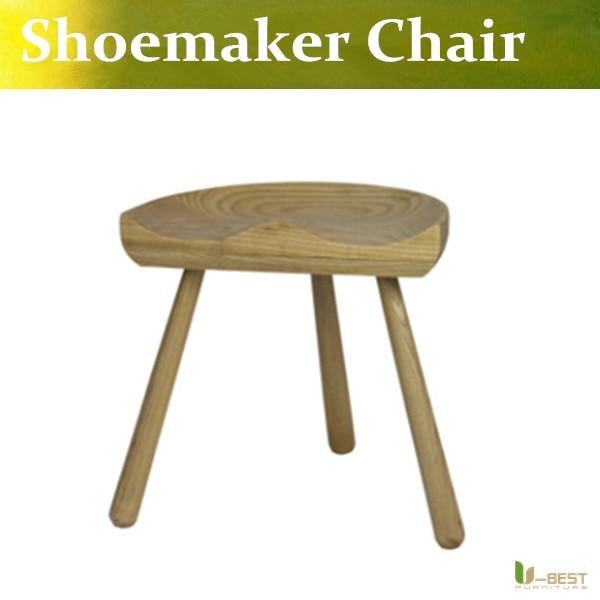 U-BEST shoemaker chair Designers Ash Nordic style wood bar stool,Shoemaker wood stool bar stool paul shoemaker can t not do