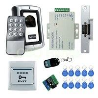 Бесплатная доставка Высокое качество отпечатков пальцев Дверной замок системы для контроля доступа с NC fail безопасный замок открыть, когда