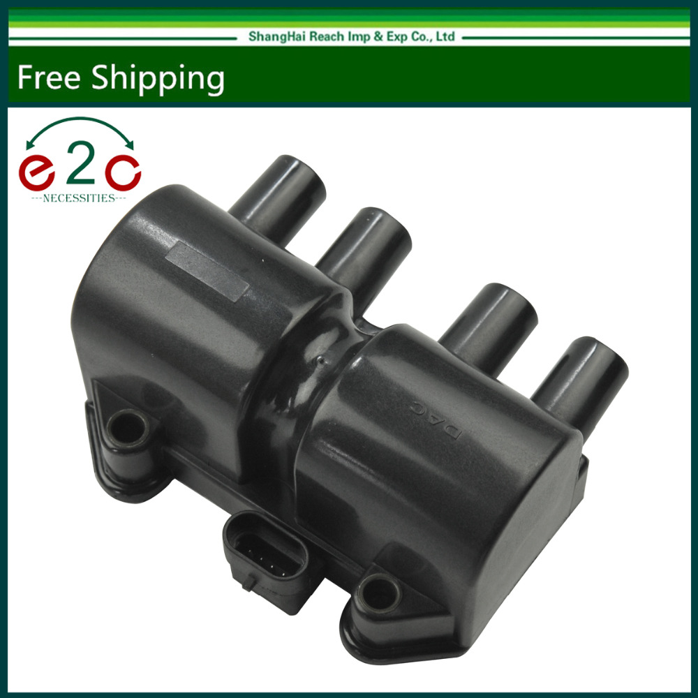 e2c ignition coil for chevrolet optra daewoo lanos leganza isuzu amigo front oe 96350585 10490192 [ 1000 x 1000 Pixel ]