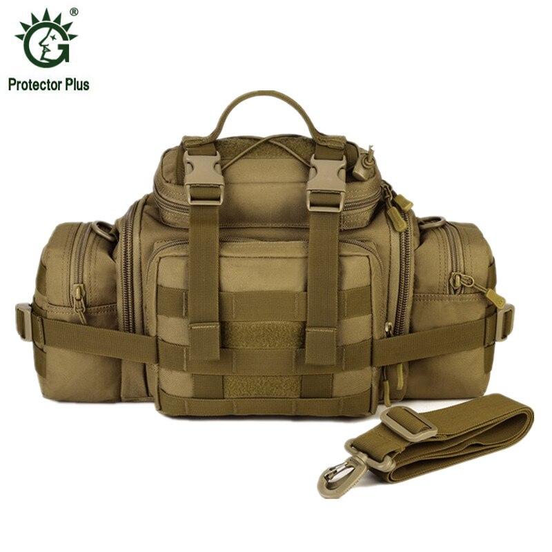 Men's Military Waist Packs Male Hip Belt Bum Fanny Pack Man Crossbody Single Shoulder Messenger Bag DSLR Camera Handbags Hike цена